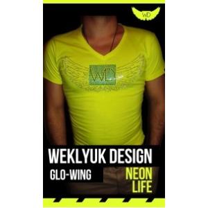 Neon yellow wings póló