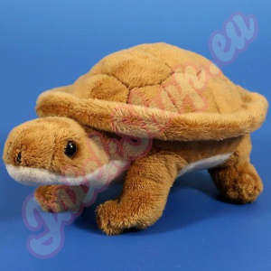 Semo Toys Plüss barna teknős 15cm