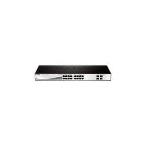 D-Link 16-port 10/100/1000 Base-T with 4 x 1000Base-T /SFP ports