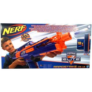 NERF N-Strike Elite - Rapidstrike CS-18 elemes szivacslövő fegyver