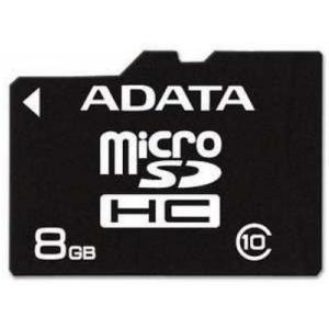 A-Data microSDHC 8GB Class 10