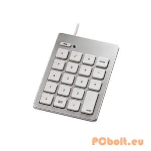 Hama Keypad Silver Silver,USB,Numerikus billentyűzet