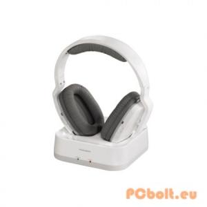 Thomson WHP6311W Wireless Headphones Fejhallgató,2.0,3.5mm,Kábel:1m,32Ohm,20-20000Hz,Wireless,Hatótáv:30m,White,lásd részletek