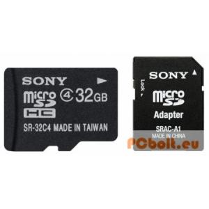 Sony 32GB microSD Class4 + Adapter