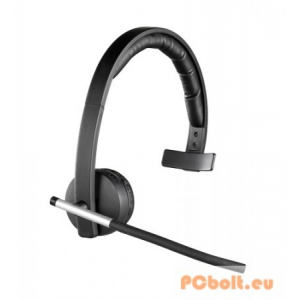 Logitech H820E Wireless Headset Mono Headset,Féloldalas,USB,Mikrofon,Wireless,Grey