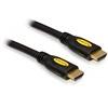 DELOCK HDMI - HDMI kábel (1.4, 3D) 3 m