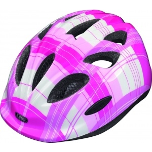 Abus Smiley pink square S kerékpáros sisak