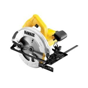 Dewalt DWE560K-QS Körfűrész, 1350W, 65mm vágásmélység,koffer