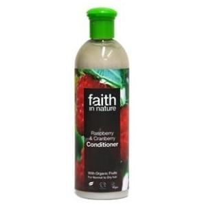 Faith in Nature Málna és Vörösáfonya hajkondícionáló - 250 ml