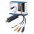 LogiLink USB 2.0-ás Video csatlakozó audióval