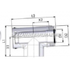 Tricox PPs/Alu ellenőrző T-idom 110/160mm