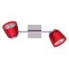 FELIX G929-2TU fali/mennyzeti spot lámpa (piros), G9 foglalattal