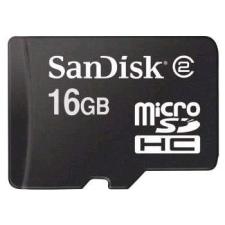 Sandisk microSDHC 16GB Class 4 memóriakártya