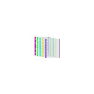 DONAU Genotherm, lefûzhetõ, színes szélû, A4, 40 mikron, narancsos felület, DONAU, sárga