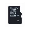 Kingston Memóriakártya, Micro SDHC, 4GB, Class 10, KINGSTON