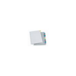 VIQUEL Genotherm, lefûzhetõ, jelölõfüles, A4, 90 mikron, víztiszta, 12 részes, VIQUEL