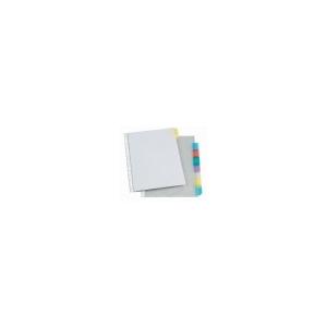 VIQUEL Genotherm, lefûzhetõ, jelölõfüles, A4, 90 mikron, víztiszta, 8 részes, VIQUEL