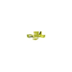 Leitz Gyorsfûzõ, laminált karton, lakkfényû, A4, LEITZ, zöld