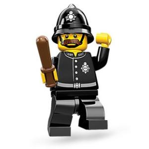 LEGO Minifigura 11. sorozat - Bobby rendőr