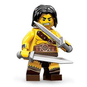 LEGO Minifigura 11. sorozat - Barbár