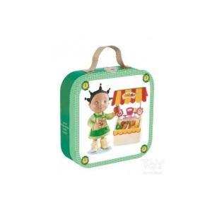 JANOD - 4 puzzle egy dobozban-Zoe a zöldségesnél