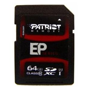 Patriot SDXC 64GB UHS-I Class 10 EP