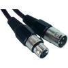 Paccs Mikrofonkábel 15 m (XLR dugó/alj), fekete, Paccs