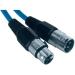 Paccs Mikrofonkábel 4 m (XLR dugó/alj), kék, Paccs