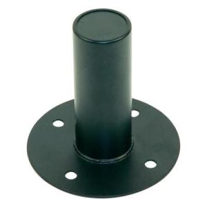 Paccs PA hangszóró beépíthető talp állványhoz, acél, Paccs