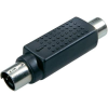 S-Video dugó/RCA alj adapter, SpeaKa 50122