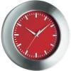 TFA Analóg kvarc falióra, alu, Ø 300 x 41 mm, piros, TFA 98.1048.05