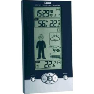 TFA Vezeték nélküli digitális időjárásjelző állomás, fekete/ezüst, TFA Studio 35.1085