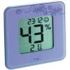 TFA Digitális páratartalom-/hőmérő, lila, TFA Style 30.5021.11