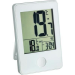 TFA Rádiójel vezérlésű hőmérő órával, fehér, TFA