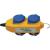 Brennenstuhl Kültéri hálózati elosztó 4 részes aljzattal IP44 védettséggel Brennenstuhl 1081070