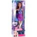 Mattel Barbie: Fashionistas - Teresa lila ruhában