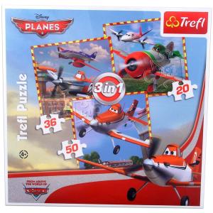 Trefl Repcsik: 3 az 1-ben puzzle