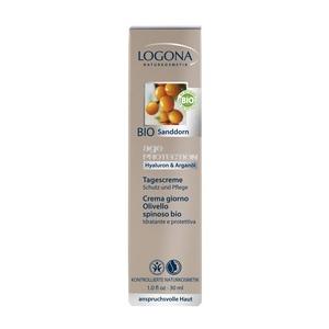 Logona Age Protection Nappali arcápoló krém hialuronsavval és bio homoktövissel igényes bőrre - 30 ml