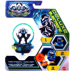 Max Max Steel - Turbo Battlers elemes pörgettyű - Turbo Strength Max Steel