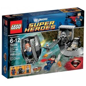 LEGO Super Heroes - Superman Black Zero szökése 76009