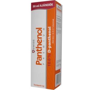 Swiss Panthenol Premium Testápoló Tej 250Ml