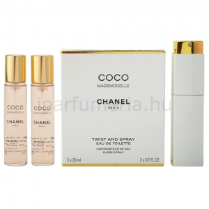Chanel Coco Mademoiselle EDT 3 x 20 ml