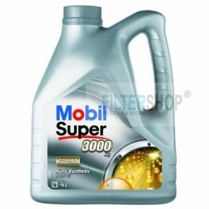 Mobil Motorolaj Mobil Super 3000 X1 5W-40 4 Liter AJÁNDÉK autó illatosító
