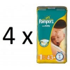 Pampers New Baby 1 Newborn - 4 x 43 db