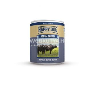 Happy Dog Büffel Pur - Bivaly húsos konzerv 6 x 400 g
