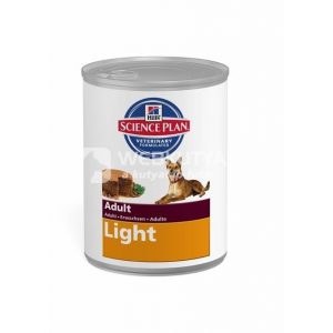 Hill's SP Canine Adult Light Original Konzerv 24 x 370 g