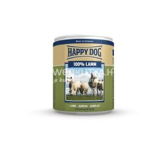 Happy Dog Lamm Pur - Bárányhúsos konzerv 6 x 800 g