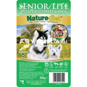 NatureDiet Senior / Lite 24 x 390 g