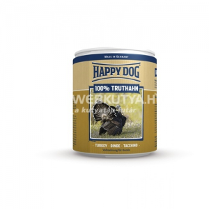 Happy Dog Truthahn Pur - Pulykahúsos konzerv 18 x 400 g