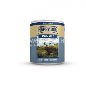 Happy Dog Wild Pur - Vadhúsos konzerv 24 x 800 g